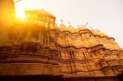 Jaisalmer金黄堡垒 免版税库存照片