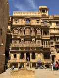 Jaisalmer, Индия Стоковые Фото