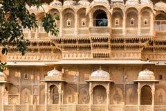 Jaisalmer建筑学 免版税库存图片