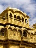 Jaisalmer. The amazing fort city of Jaisalmer in Rajasthan, India stock photography