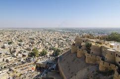 Jaisalmer from above Stock Photography