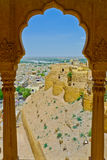 Jaisalmer beskådar royaltyfria bilder