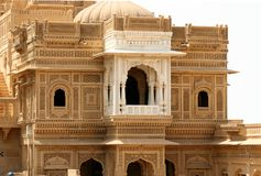 Jaisalmer Buidling. Building in the city of Jaisalmer in India Royalty Free Stock Photography