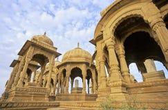 Jaisalmer Cenotaphs Stock Photo