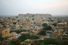 Jaisalmer, città dorata India Immagini Stock Libere da Diritti