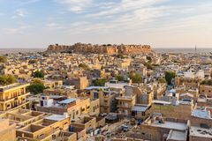 Free Jaisalmer City And Fort. Rajasthan. India Stock Image - 159671331