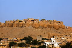 Jaisalmer City Fort Royalty Free Stock Image