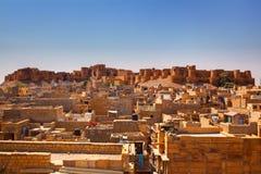 Jaisalmer City Fort Stock Image