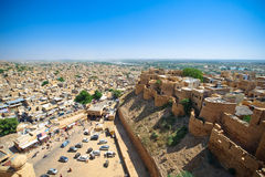 Jaisalmer City and Fort Royalty Free Stock Images