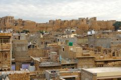 Jaisalmer city view Stock Photography