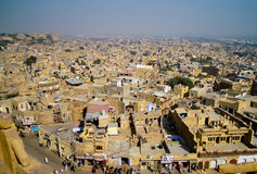 Jaisalmer cityscape Royalty Free Stock Photography