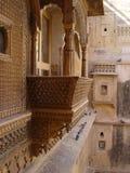 Jaisalmer de pedra amarelo Fotografia de Stock Royalty Free
