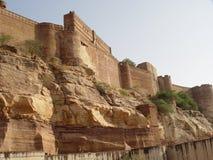 Jaisalmer de pedra amarelo Imagem de Stock Royalty Free