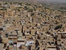 Jaisalmer de piedra amarillo Fotografía de archivo libre de regalías