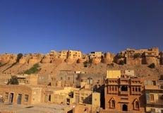 Jaisalmer en Rajasthán, la India. Fotos de archivo libres de regalías