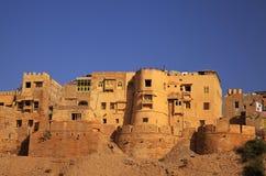 Jaisalmer en Rajasthán, la India. Foto de archivo