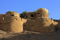 Jaisalmer en Rajasthán, la India. Fotos de archivo