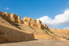 Jaisalmer fästning i Rajasthan royaltyfria bilder