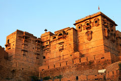 Jaisalmer Fort. In Rajasthan, India royalty free stock photos