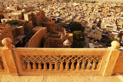 Jaisalmer Fort. In Rajasthan, India stock image