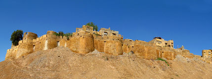Jaisalmer Fort - ancient yellow stone fortress, India Stock Image