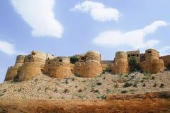 Jaisalmer fort. In the desert Royalty Free Stock Image