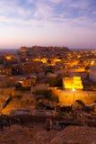 Jaisalmer Fort Morning Dawn Sunrise Houses V Royalty Free Stock Image