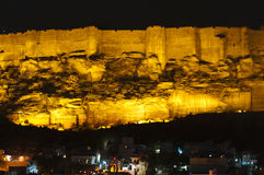Jaisalmer fort at night, Jaisalmer Stock Photography