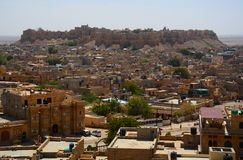 Jaisalmer fort. Rajasthan. India Stock Image
