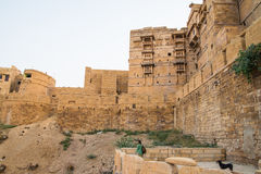 Jaisalmer fort in Rajasthan Royalty Free Stock Image