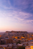 Jaisalmer Fort Sunrise Morning Copy Space V Royalty Free Stock Photography