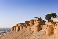 Jaisalmer Fort in Western India. Jaisalmer Fort in Jaisalmer City in the Indian state of Rajasthan Stock Image