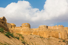 Jaisalmer fortress in Rajasthan Stock Image