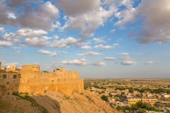 Jaisalmer fortress in Rajasthan Royalty Free Stock Photos