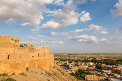 Jaisalmer fortress in Rajasthan Stock Images