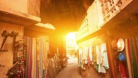 Jaisalmer fortu zakupy ulica zdjęcie wideo