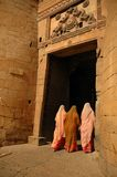 Jaisalmer gate. India. Rajasthan. Old Jaisalmer gate Stock Images
