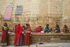 Jaisalmer gatuförsäljare Royaltyfri Bild