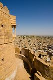 Jaisalmer, the golden city Royalty Free Stock Photo