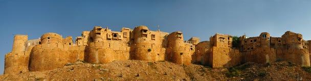 Jaisalmer Golden Fort. Beautiful panorama of the Golden Fort of Jaisalmer, India stock photos