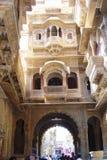 Jaisalmer haveli Stock Images