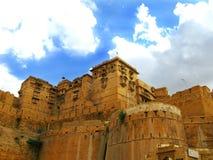 Jaisalmer, la città dorata magnifica, Ragiastan immagine stock libera da diritti