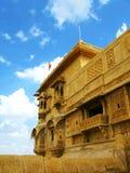 Jaisalmer, la città dorata magnifica, Ragiastan fotografia stock