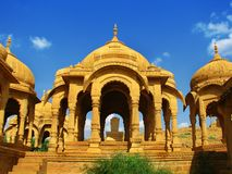 Jaisalmer, la ville d'or magnifique, Ràjasthàn Photo stock