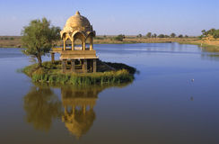 Jaisalmer lake Stock Photos