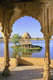 Jaisalmer lake Royalty Free Stock Images