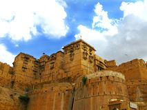 Jaisalmer, the magnificent Golden City, Rajasthan Royalty Free Stock Image
