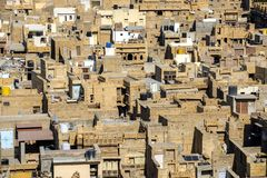 Jaisalmer neighborhood Royalty Free Stock Photos