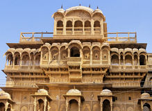 Jaisalmer palace Royalty Free Stock Image