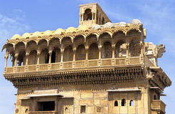 Jaisalmer palace Royalty Free Stock Images